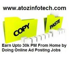 Earn Unlimited by doing Part/Full Time Jobs at atozinfotech