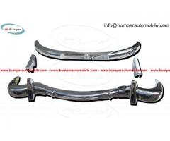 Mercedes 300SL bumpers (1957-1963) stainless steel