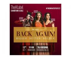 Seeking Latest Fashion Trends in Ethnic Designs ? Visit Thehlabel Exhibition & Sale 2018!
