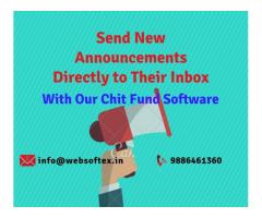 Chit Fund Software with Free Website and Mobile App