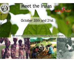Meet the Irulas on October | Entryeticket