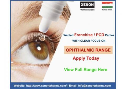 Eye Drops Manufacturer in India - Xenon Pharmaceuticals