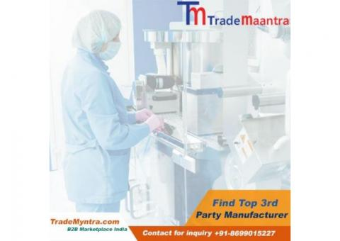 Third Party Pharma Manufacturers in India - Trademyntra.com