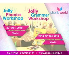Upcoming Jolly Phonics Workshop Vashi