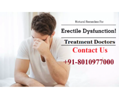 Erectile Dysfunction Treatment Doctors in Chattarpur, +918010977000