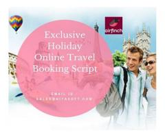 Best Exclusive Holiday Travel Booking App for Business
