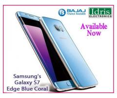 Blue Coral color variant of Samsung Galaxy S7 Edge Available Now