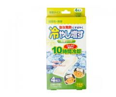Cooling Gel Sheets by Kokubo (Pack contains 4 Sheets).