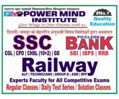 SSC, Bank, Railway Coaching in Jaipur - Power Mind