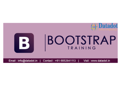 BootStrap Training Institutes In Ameerpet