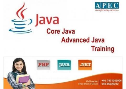 Advanced Java Training Institutes In Ameerept