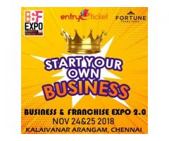 BUSINESS AND FRANCHISE EXPO 2.0- 2018 | Entryeticket