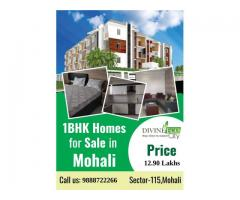 1BHK Flats For Sale in Mohali at Divine Eco City
