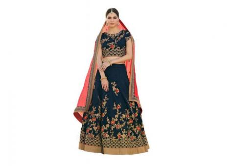 Best Offers on Silk Lehengas at Mirraw | Shop Now