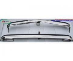 Mercedes W123 Sedan bumper kit (1976 - 1985) stainless steel