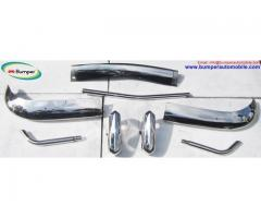 VW Karmann Ghia USA bumper type (1955 – 1966) stainless steel