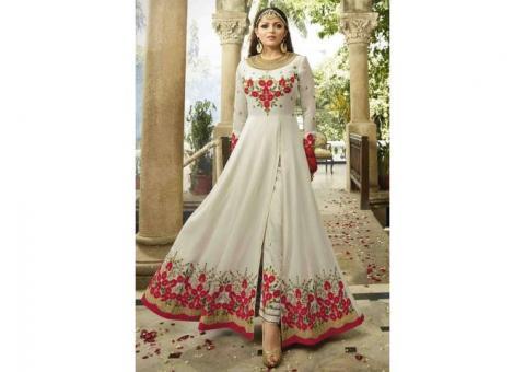 Buy Designer Anarkali and get Discount up to 71%