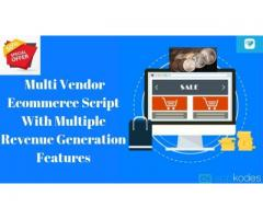 50% Off On Multi Vendor Ecommerce Script For An Ecommerce Business