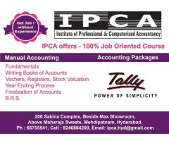 Manual Accounting with Tally ERP 9
