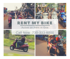 Activa Hire in Goa