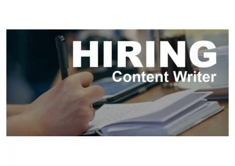 Need Professional Content Writers for Freelancing