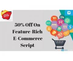 50% Off On Feature-Rich E-Commerce Script