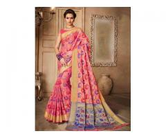 Designer sarees collection at lowest prices from Mirraw
