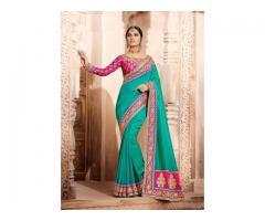 Newest designer bridal sarees online at Mirraw