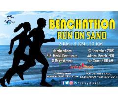 Beachathon Run On Sand