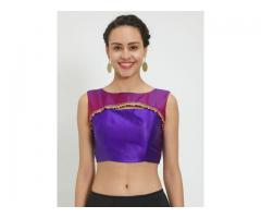 Unstitched Saree Blouses Online   Grab Upto 79% Off