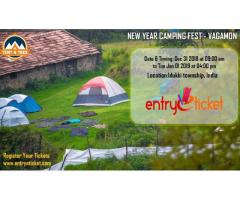 New Year Camping Fest - Vagamon | Entryeticket