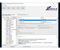 Export EDB to PST File