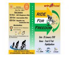 Ride For Freedom 2K19 - Entryeticket