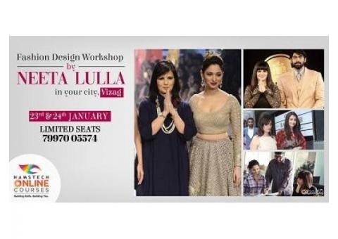 Fashion Design Workshop by Neeta Lulla!