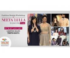 Fashion Design Workshop by Neeta Lulla!