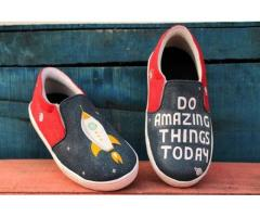 Buy Hand Painted Shoes Online At Best Price
