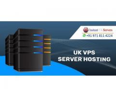UK VPS Server Hosting - Instant UK Servers