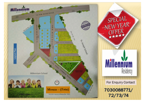 Residential plots for sale in Fetri  Katol Road, Nagpur | Plot Available in 1560 Sq. Ft. & More