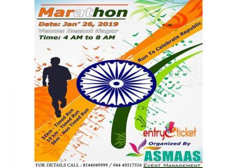Marathon Run to Celebrate Republic day!! - Entryeticket