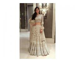 Get Online Georgette Lehenga From Mirraw