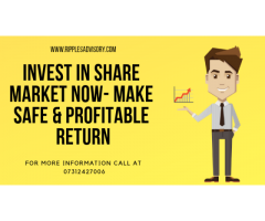 Invest in Share Market Now- Make Safe & Profitable Return