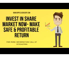 Invest in Share Market Now- Make Safe & Profitable Return