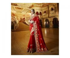 Best Indian Bridal sarees online on Mirraw.