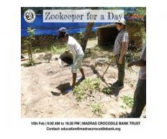 Zookeeper for a Day 2019 - Entryeticket