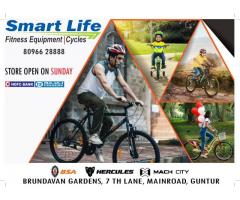 Smart Life | Best Cycles & Fitness Equipment store India