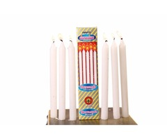 CANDLES-PILLAR CANDLES-WHITE CANDLES-INDIAN WAX INDUSTRIES