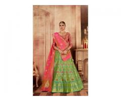 Attractive Discounts On Silk Lehenga Choli At Mirraw