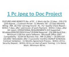 JPG TO DOC