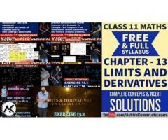 Limits and Derivatives Class 11 Maths