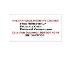 Ayurvedic Medicine Courier All Punjab Chandigarh to USA Canada UK Australia
